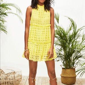 Lilly Pulitzer Indira yellow dress